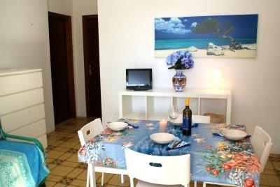 residence azzurro porto cesareo, lecce, puglia - Soggiorno Azzurro